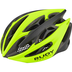 Rudy Project Sterling + Kask rowerowy, yellow fluo - black matte